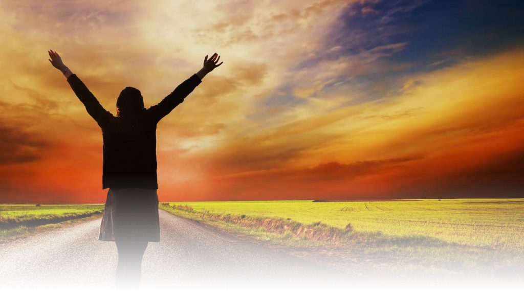 sunrise-woman-arms-up